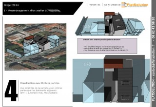 Modélisation externe d'un atelier en banlieue