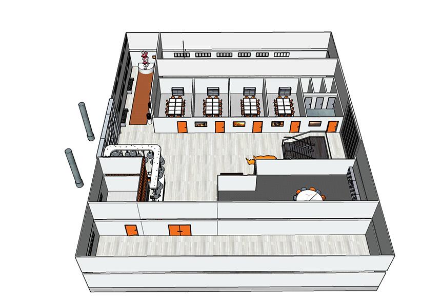 Office - niveau 1 meublé