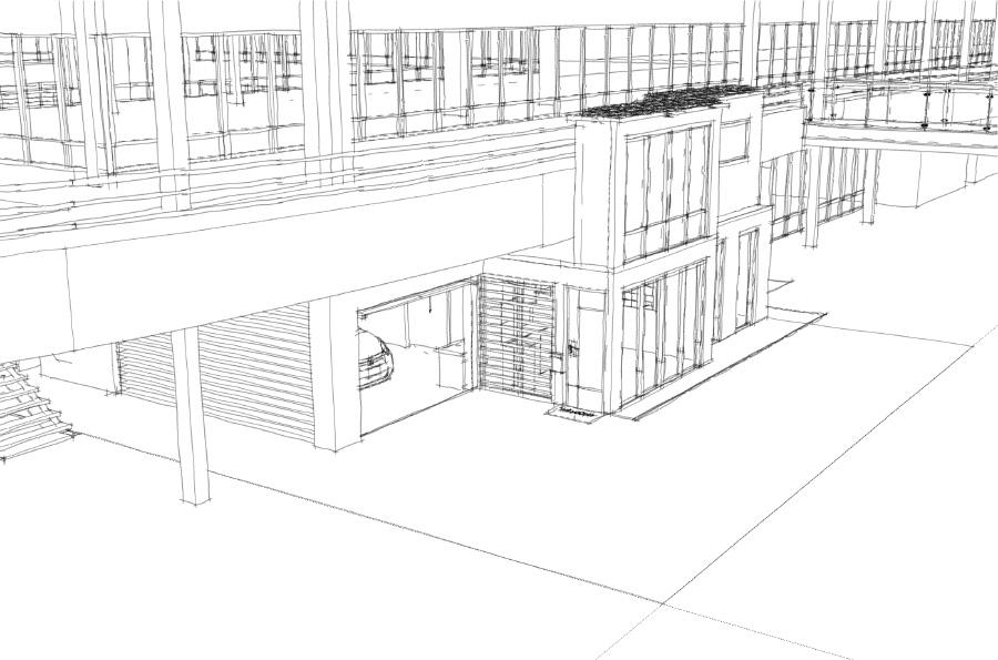 Sketch de façade N°1