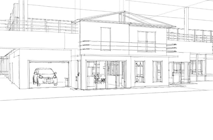 Sketch de façade N°2