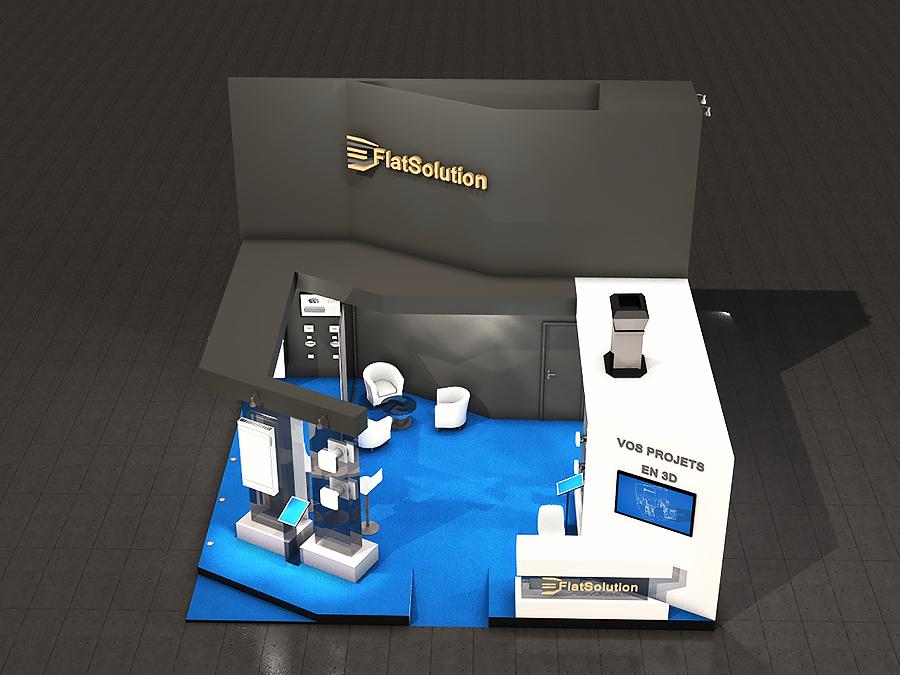 Stand 3D - design original